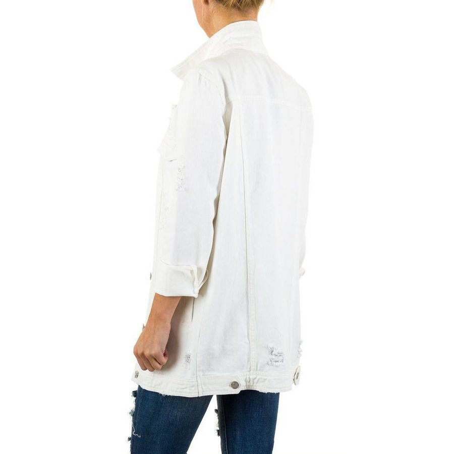 Damen Jacke von Shk Mode - white