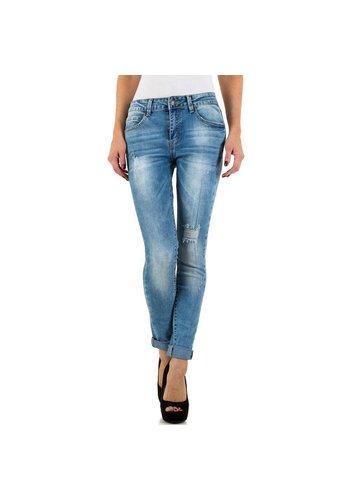 Nina Carter Dames Jeans van Nina Carter - Blauw