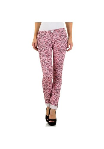 Simply Chic Dames Jeans van Simply Chic - pink