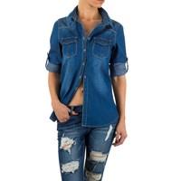 Damen Bluse von Simply Chic - blue