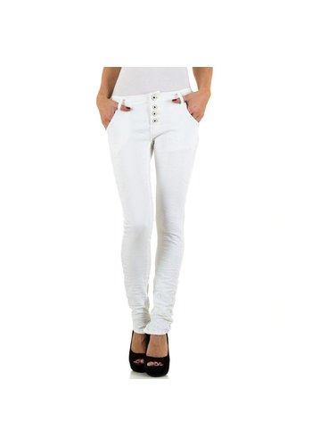 Remixx Denim Dames Jeans van Remixx Denim - blanc