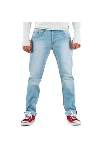 ORIGINAL ADO Damen Jeans von Original Ado - L.blue