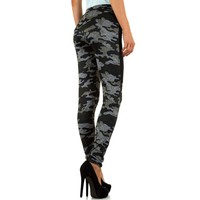 Damen Leggings von Best Fashion - khaki