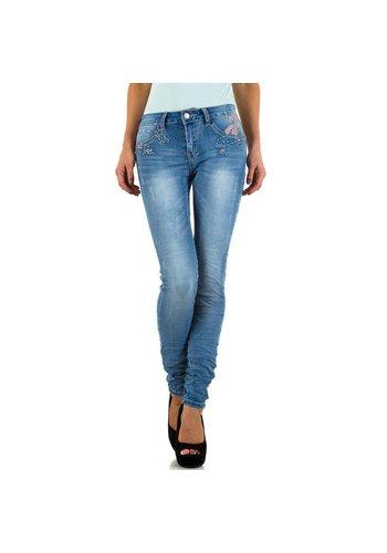 Dames Jeans  Gold Sk - blue