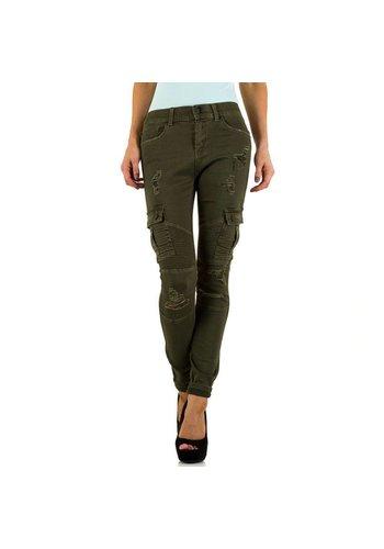 Dames Jeans  Daysie Jeans - olivegreen