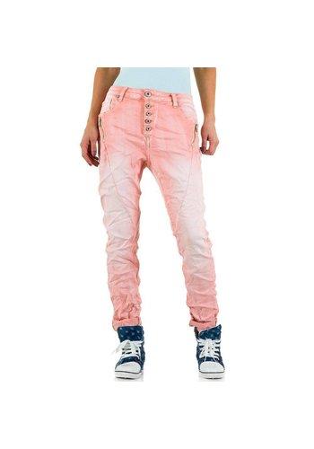 Dames Jeans Mozzaar - rose