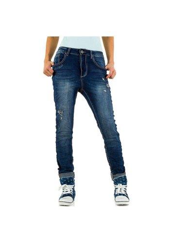 Dames Jeans Mozzaar - DK.blue