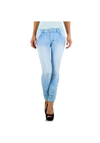 Dames Jeans  Mozzaar - blue