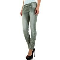 Damen Jeans von Mozzaar - green