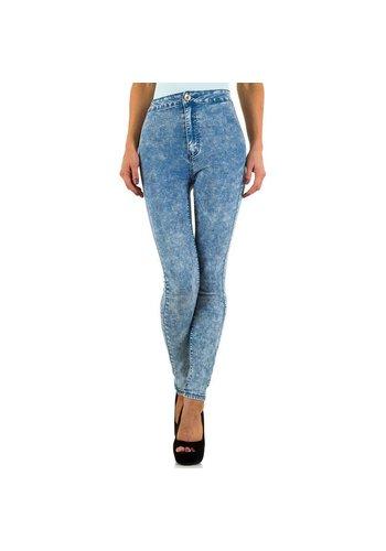 Dames Jeans  Bestiny Denim - Licht Blauw