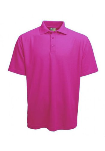 Lemon & Soda Polo korte mouw roze