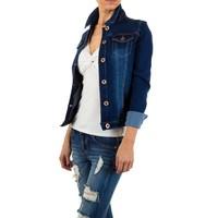 Damen Jacke von Rjonaco Denim - blue