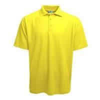 Gildan Polo kurze Ärmel gelb