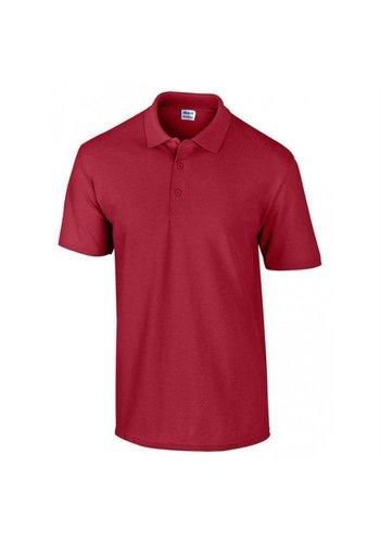 Gildan Gildan Polo manche courte rouge