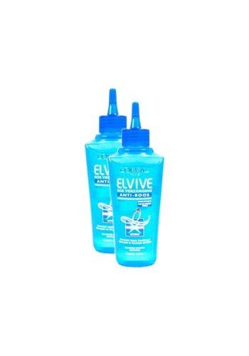 L'Oréal Paris Elvive verzorging anti-roos - 2 stuks - 100 ml