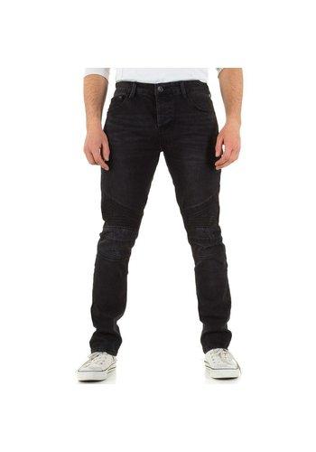 Heren Jeans Black Ace - black