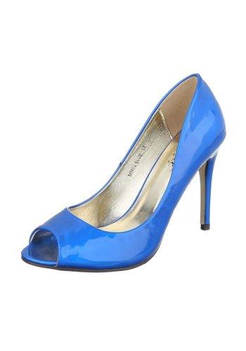 Dames Peeptoes - blauw