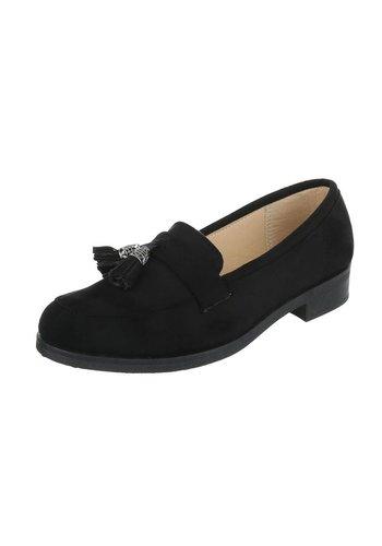 Dames Mocassin - Zwart