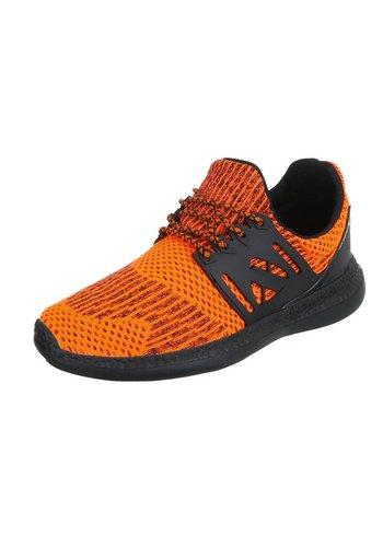 Heren sportschoen Oranje