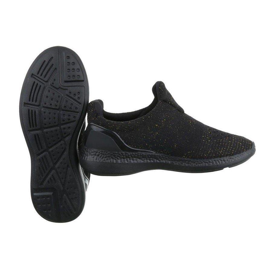Damen Sportschuhe -black/ gold