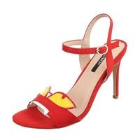 Damen Sandaletten - red