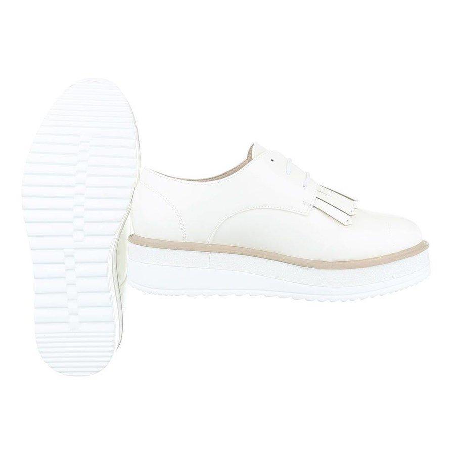 Damen Halbschuhe - white