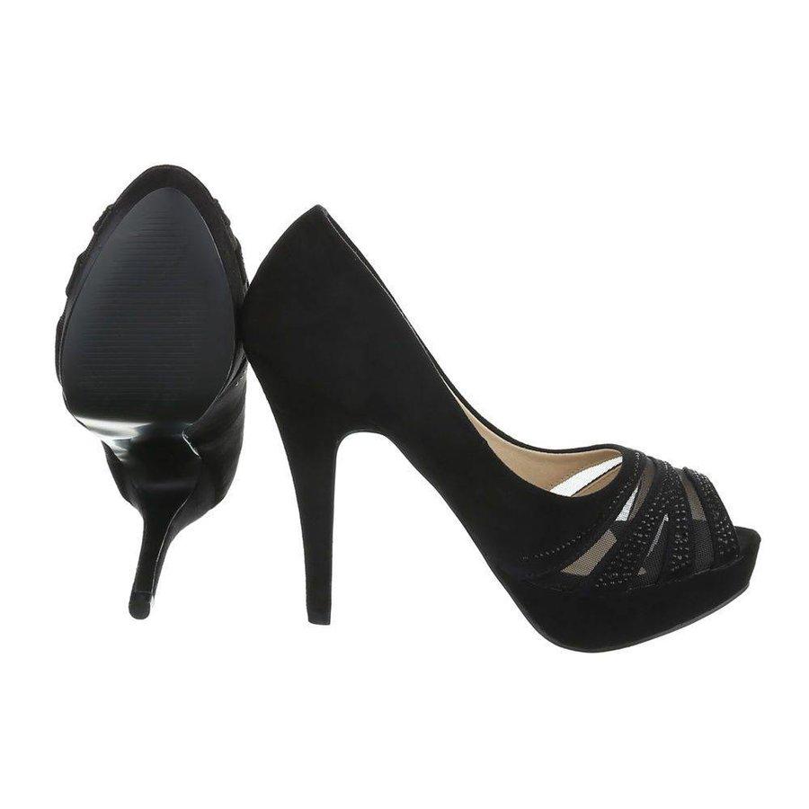 Damen Peeptoes - black
