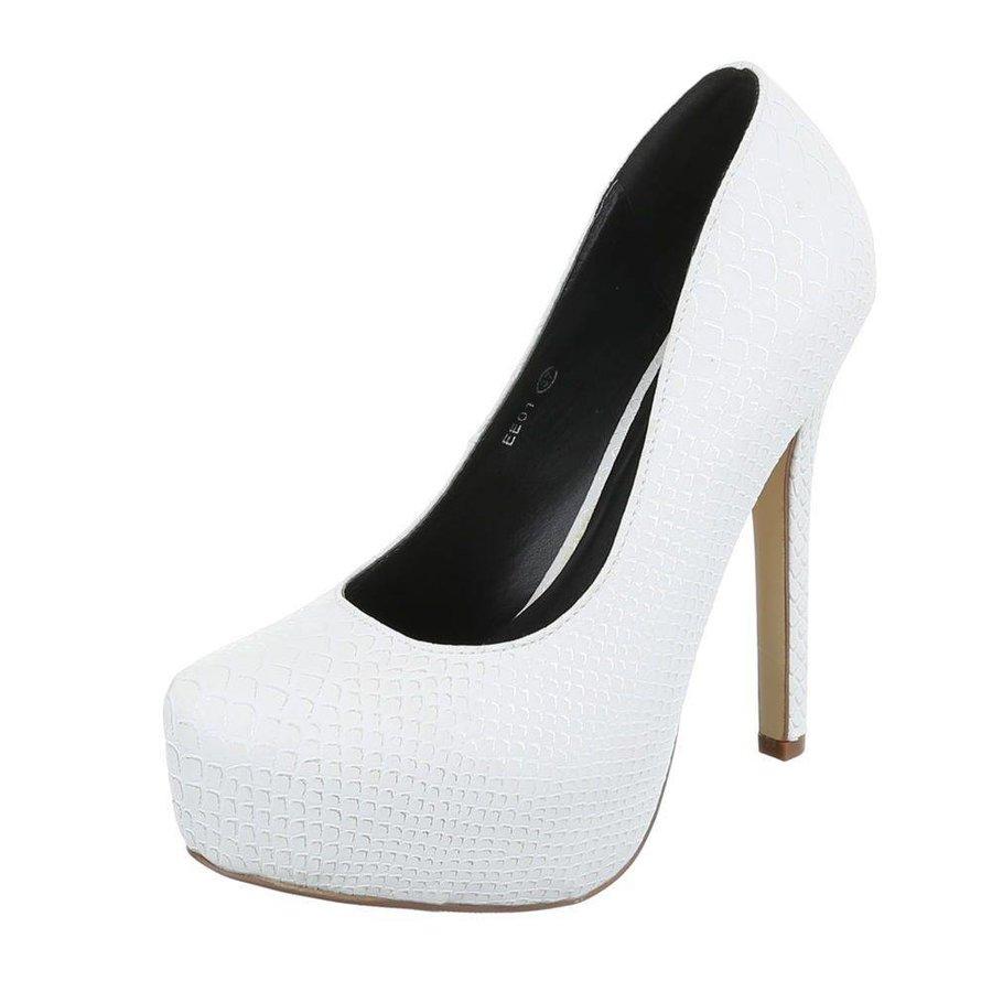 Damen Pumps - White
