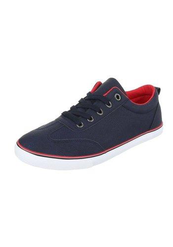 Heren sneakers blauw