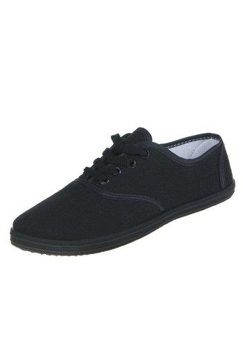SUPER ME Dames Sneakers - Zwart