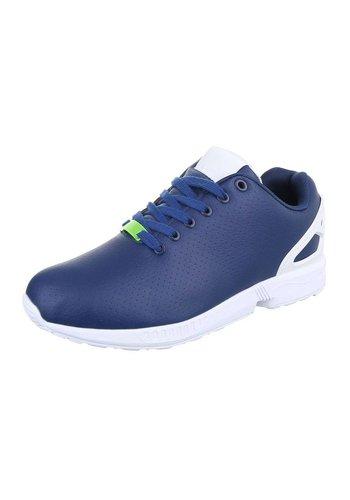 Heren Sportschoenen  - Blauw/Wit