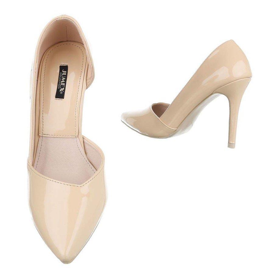 Damen High Heels - beige