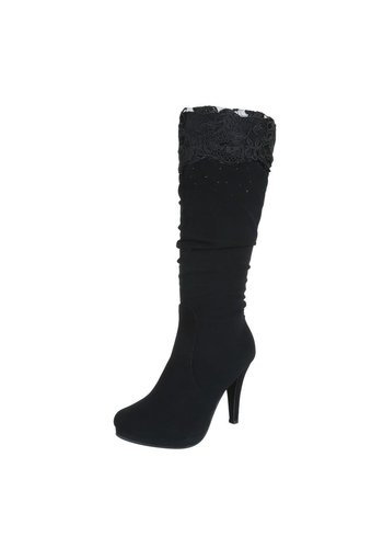 Dames Laarzen - Zwart