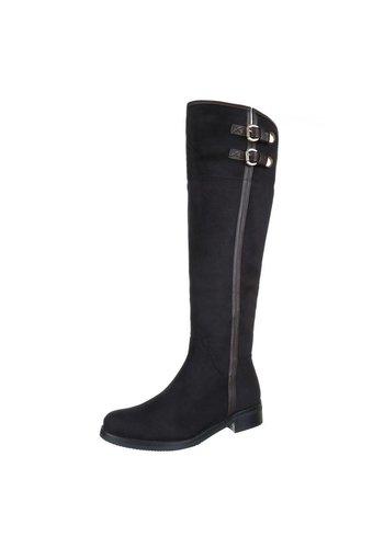 VIA GIULIA Dames Laarzen - Zwart