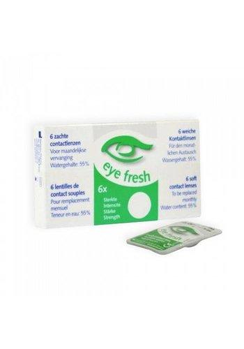 Eye Fresh 6 x weiche Kontaktlinsen