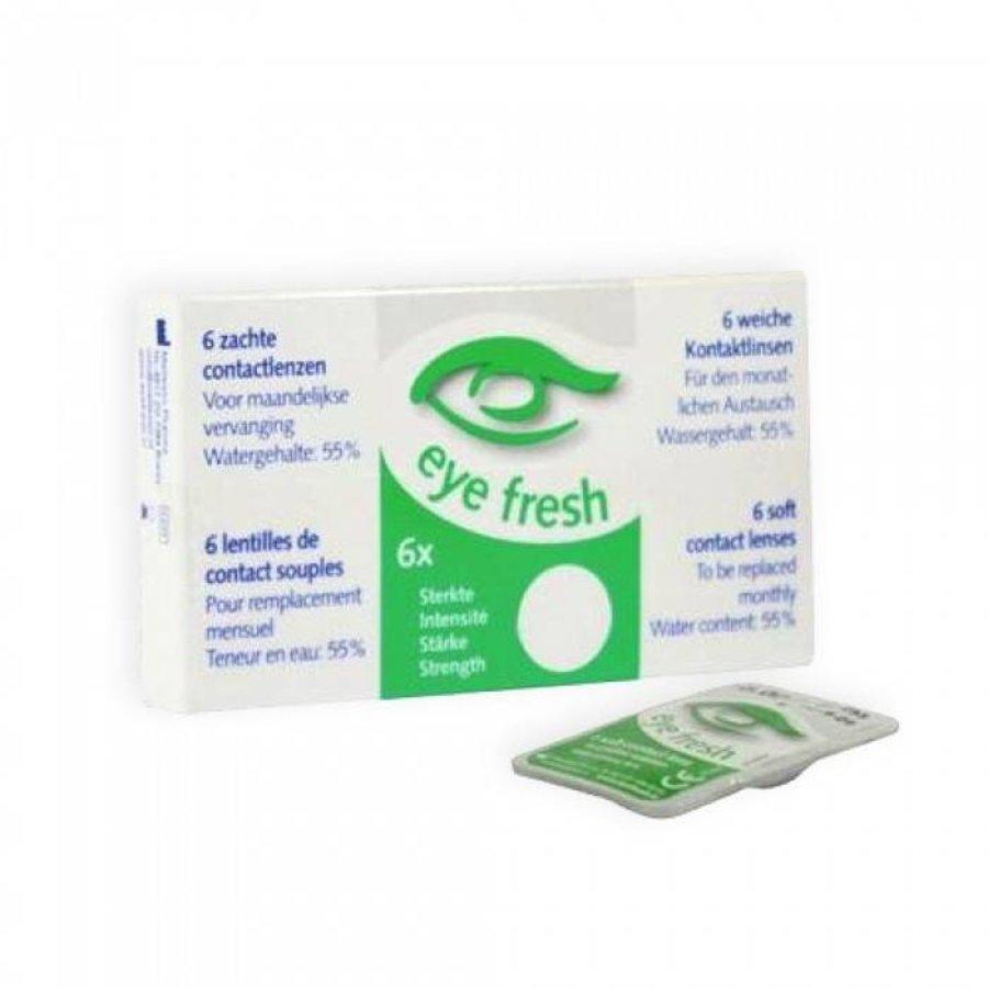 6 lentilles de contact souples