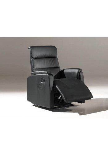 Neckermann Relaxstoel Hugo zwart