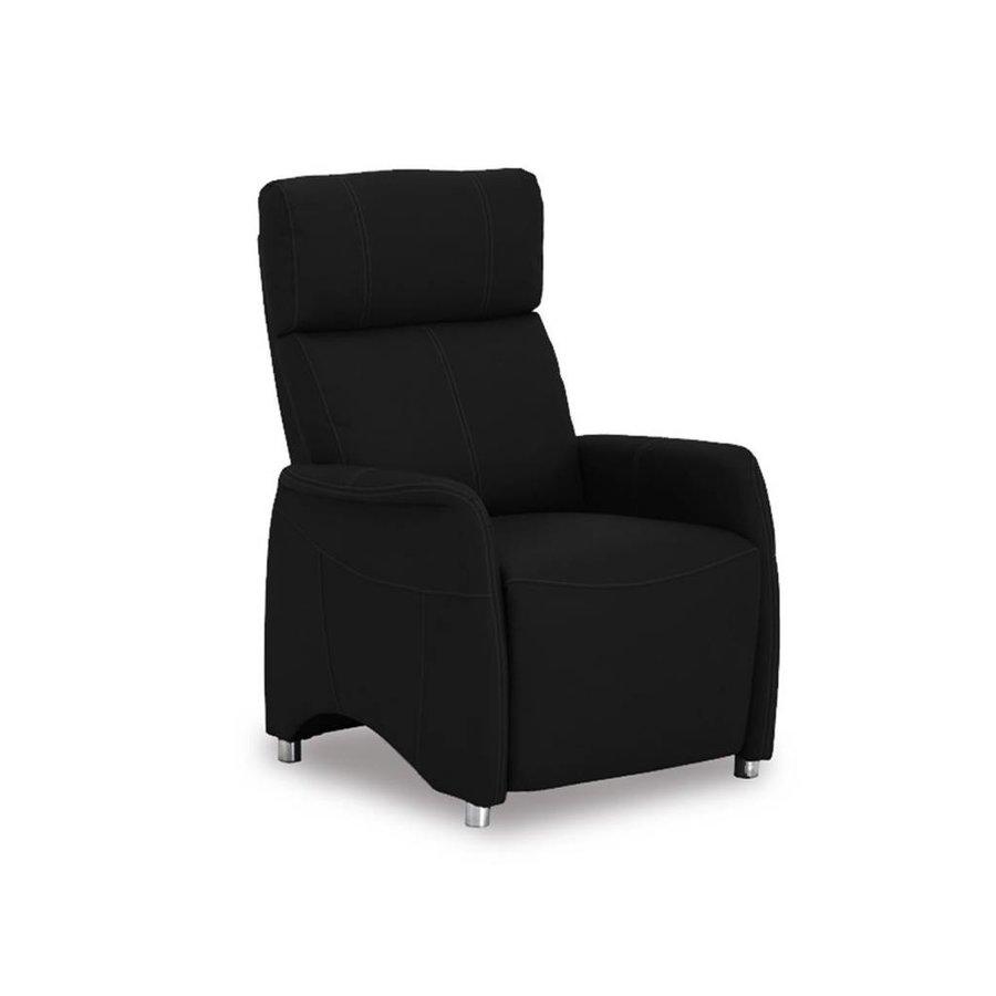 Relaxstoel Javier zwart Zwart