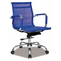 Bureaustoel Boss blauw blauw