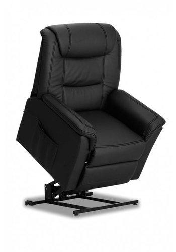 Neckermann Relaxstoel electrisch Colorado zwart Zwart