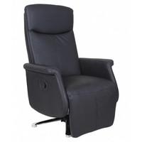 Relaxstoel Kiwi zwart Zwart
