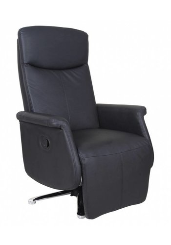 Neckermann Relaxstoel Kiwi zwart Zwart