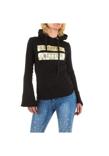 Emma&Ashley Design Dames Sweatshirt - Zwart