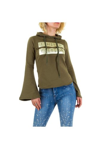Emma&Ashley Design Damen Sweatshirt von Emma&Ashley Design - armygreen