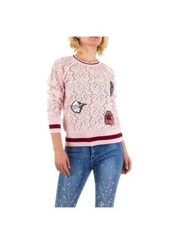 Emma&Ashley Design Dames Sweatshirt - Roze