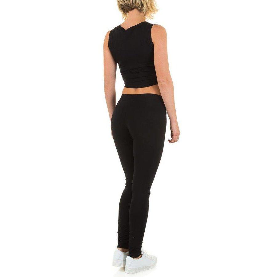 Dames sportkleding - Zwart