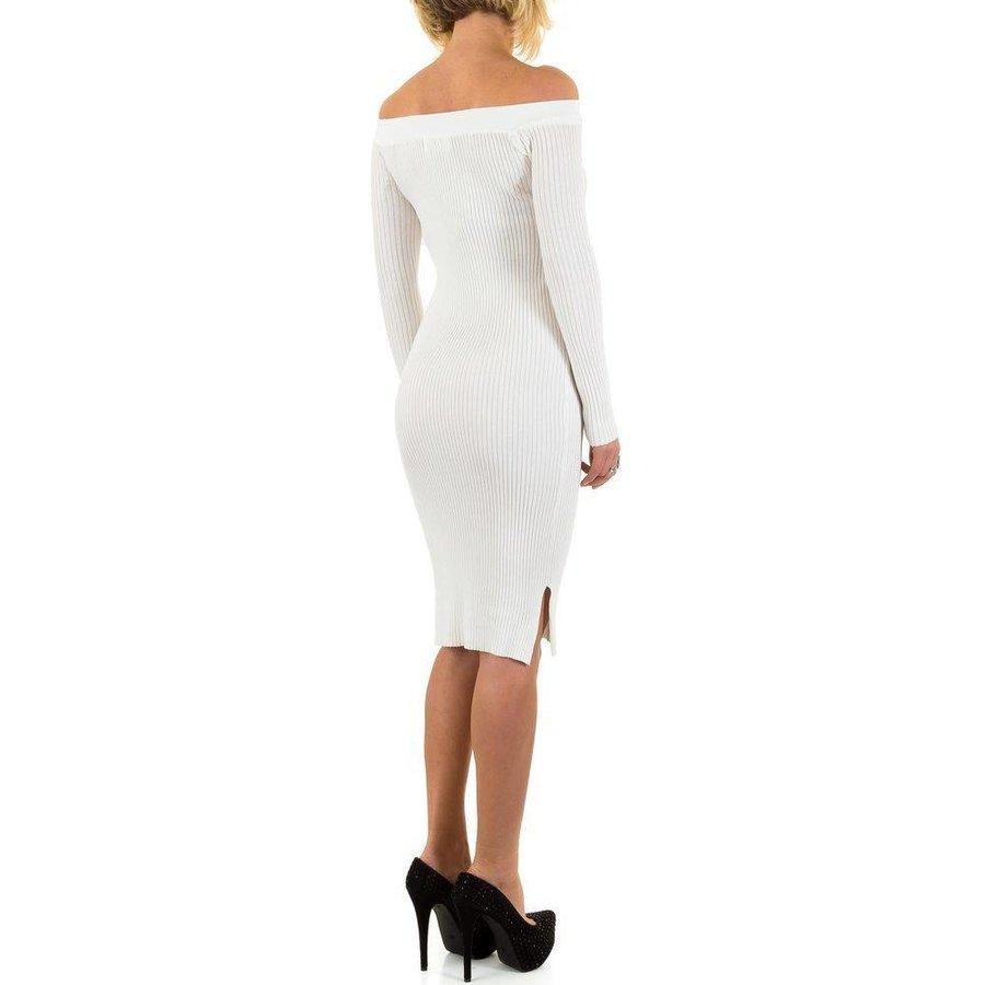 Damen Kleid von Jcl Paris - white