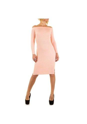 Jcl Paris Damen Kleid von Jcl Paris - rose