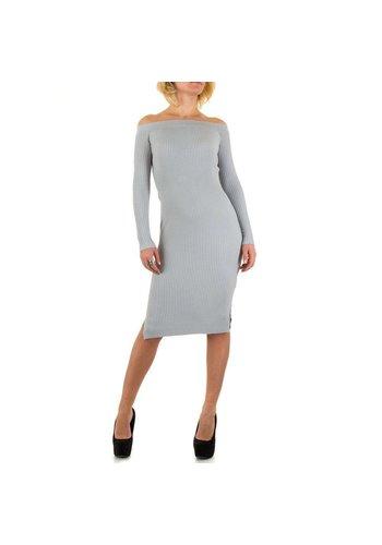 Jcl Paris Damen Kleid von Jcl Paris - grey