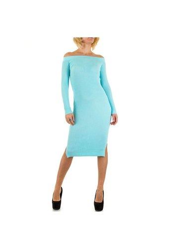 Jcl Paris Damen Kleid von Jcl Paris - blue